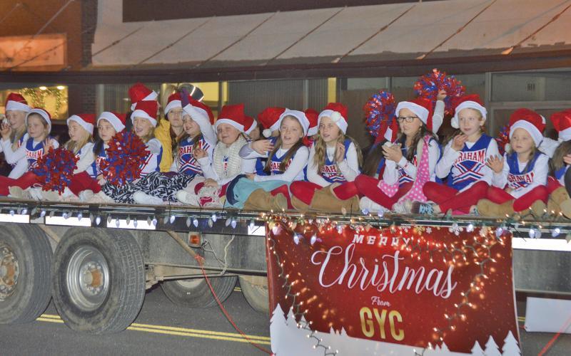 Graham Christmas Parade 2020 Christmas Parade, events kick off downtown Thursday | Graham Leader
