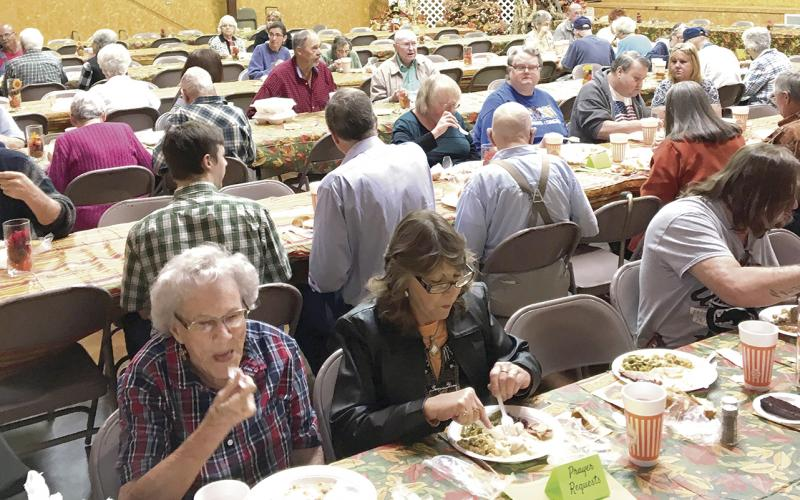 All Are Welcome To Eat Volunteer At 30th Annual Free Thanksgiving