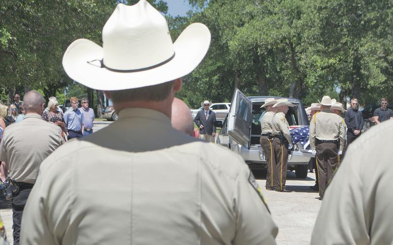 Young County says farewell to former Sheriff Bryan Walls | Graham Leader