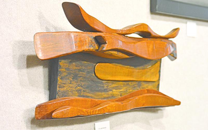 'It's a Metaphor,' Oak Sculpture by Michelle Crider