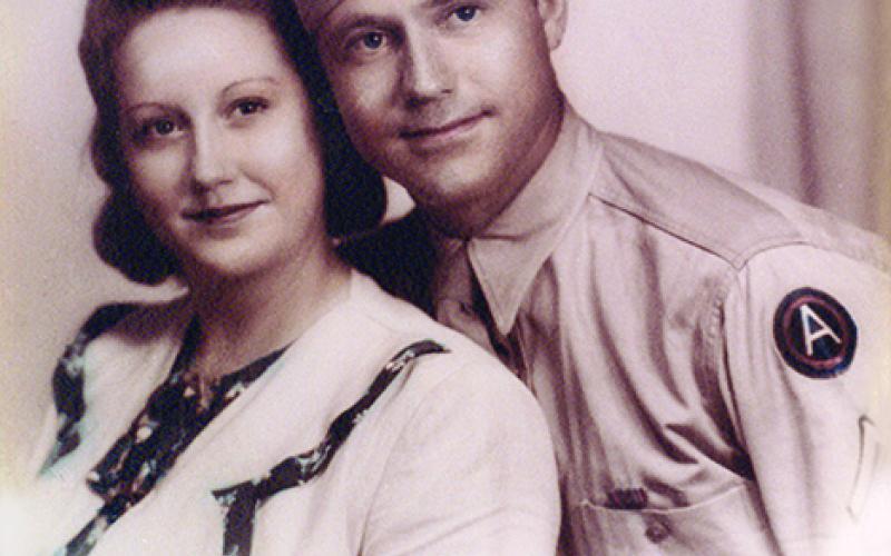 Ann and Johnnie Logan, 1940