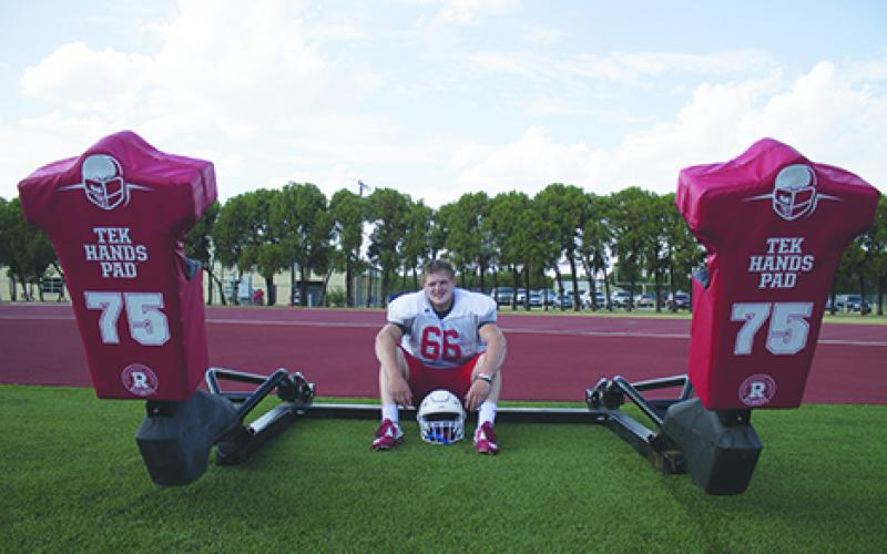 The Steers have seen a lot of good offensive linemen come through. With his combination of size, speed and work ethic, Hunter Dooley may be the best to ever play in Graham.