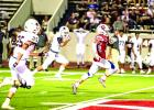 Jaxon Brockway broke free on a 72-yard touchdown run in Friday night's loss to Brownwood.