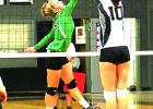 Newcastle's Arryn Eli blocked a Graford attempt during Tuesday's loss.